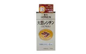 豊年 大豆レシチン 240カプセル(J-オイルミルズ)
