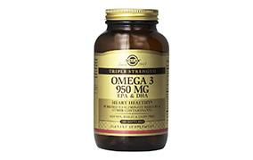 ソルガートリプルストレングス(効力3倍)オメガ-3EPA&DHA100錠入り(ベターマルシェ)