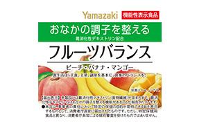 フルーツバランス(ピーチ・バナナ・マンゴー)(山崎製パン)