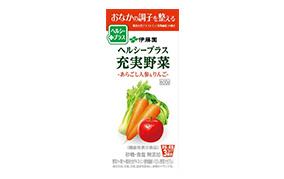 ヘルシープラス充実野菜-あらごし人参&りんご-600g(伊藤園)