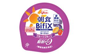 朝食BifiX(ビフィックス)ヨ-グルトフルーツプルーン(江崎グリコ)