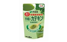 有機栽培緑茶 手軽にカテキン粉末40g(伊藤園)