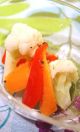 塩麹の和風ピクルス