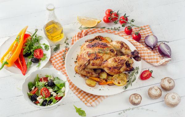 罪悪感なく食べられるチキン料理で冬を楽しむ