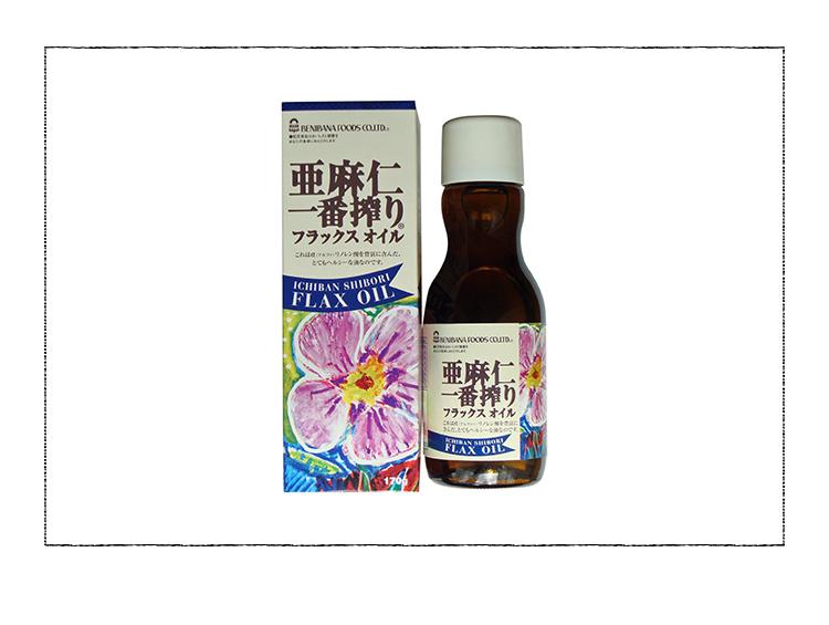 紅花食品 亜麻仁一番搾り 170g(日本製粉)