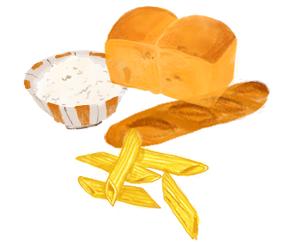 穀類(主食)の画像
