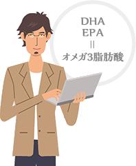 DHA/EPA=オメガ3脂肪酸