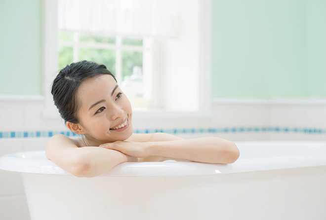 代謝アップ、カロリー消費費、美肌作り、目的に応じた入浴方法がある!