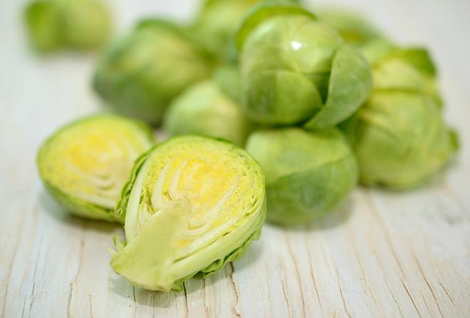今が旬の芽キャベツ。キャベツよりも栄養豊富だって知ってた?