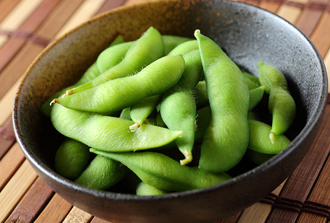 枝豆は美容食!おつまみに、おやつにパクパク食べよう