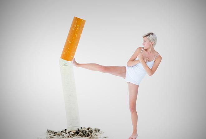 老化を進めたくないなら、今すぐ禁煙しなくちゃ!