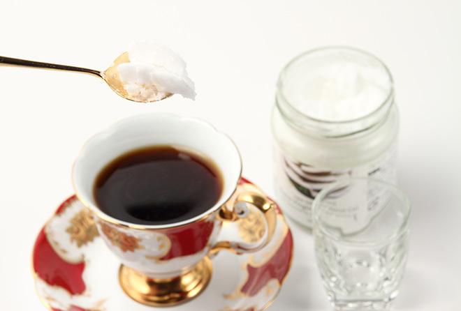 ココナッツオイルコーヒーで空腹&美容対策!