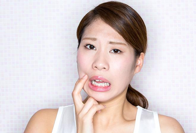 つらくて痛い口内炎、4つの原因と対処法
