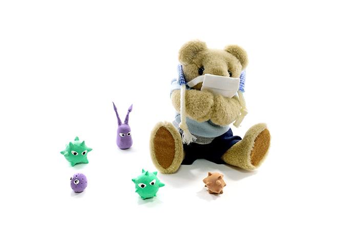 間違えやすい細菌とウイルス、その違いはなあに?