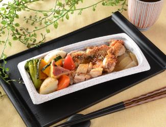グリルチキン&彩り野菜