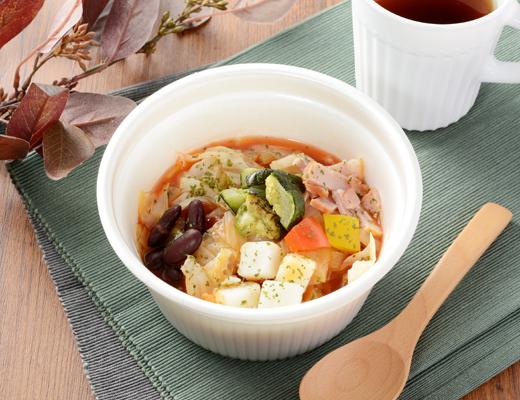 10種野菜と豆のミネストローネ