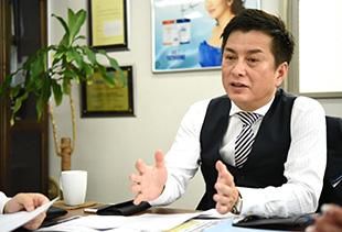 グレイン松澤社長