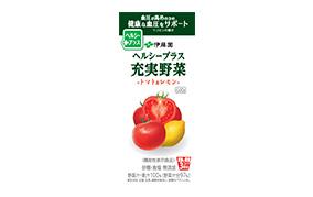 ヘルシープラス 充実野菜-トマト&レモン-600g(伊藤園)