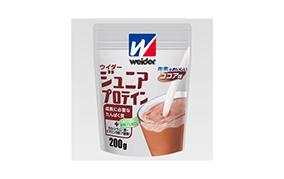 ウィダー ジュニアプロテイン ココア味(森永製菓)