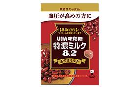 特濃ミルク8.2あずきミルク(味覚糖)