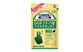 小林製薬 DHA イチョウ葉 アスタキサンチン 30日(小林製薬)