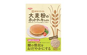 大麦粉のホットケーキミックス