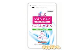 シルクアミノコラーゲン+(DMJえがお生活)