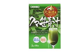 オリヒロクマ笹青汁(オリヒロプランデュ)