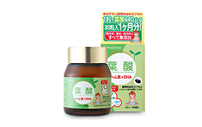 葉酸+ヘム鉄+DHA 30粒入(約1ヶ月分)(マドンナモア)