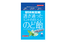 糖質50%オフ 透き通ったミントのおいしいのど飴(味覚糖)