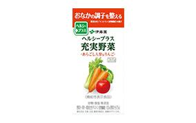 ヘルシープラス充実野菜-あらごし人参&りんご-265g(伊藤園)