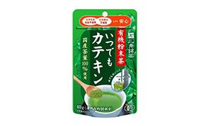 有機粉末茶 いつでもカテキン40g 三井銘茶(三井農林)