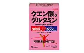 クエン酸&グルタミン ピンクグレープフルーツ風味(江崎グリコ)
